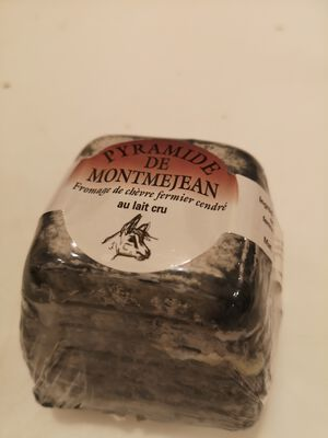 Pyramide de Montmejean LAIT cru fermier de chèvre cendré 25%MG, 170g