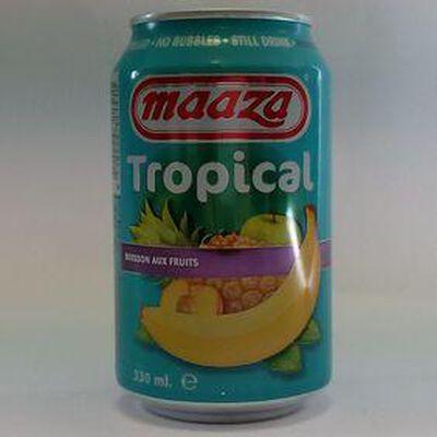 BOISSON TROPICAL 0.33L MAAZA