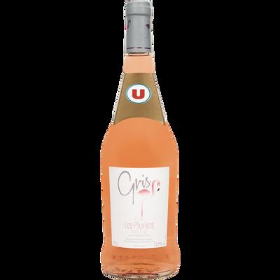 Vin rosé Pays d'Oc IGP gris U, 75cl