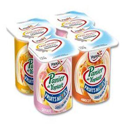Yaourt Panier Mixés aux fruit Yoplait X4