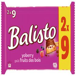 BALISTO FRUITS DES BOIS X2