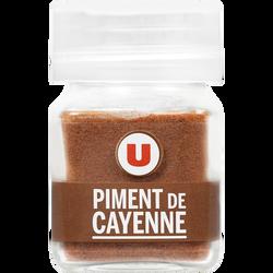 Piment Cayenne moulu U, format petit, 18g