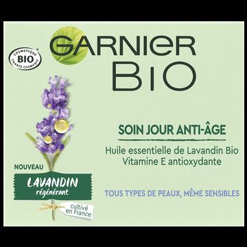 Garnier Soin De Jour Bio Anti-âge Parfum Lavandin Régénérant Garnier, 50ml