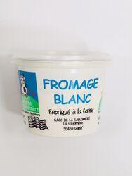 Fromage blanc nature 500g, La Ferme de la Sablonnière