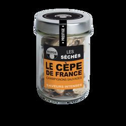 Cèpes séchés de France BORDE, bocal de 20g