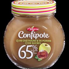Confipote pomme & châtaigne, MATERNE, 350g