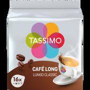 Tassimo Café Long Classique Tassimo, 16 Dosettes Soit 107g
