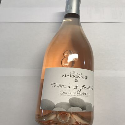 Terres et Galets Costières de Nimes AOP rosé Mas Marignane 75cl