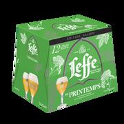 Leffe Bière Blonde Leffe De Printemps Abbaye De Leffe 6,6° Pack 12x25cl