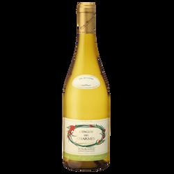 CLUB DES VINS & TERROIRS Touraine AOP blanc Sauvignon l'enclos des charmes, 75cl
