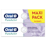 Oral B Dentifrice Pro Expert Pure Activ Email Oral B, 2x75ml