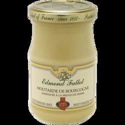 Moutarde de Bourgogne EDMOND FALLOT, bocal 10cl
