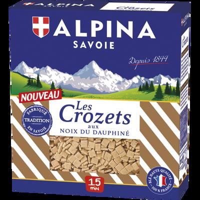 Crozets au noix du dauphiné, ALPINA SAVOIE, paquet de 400g
