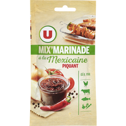 Mix marinade à la Mexicaine U, 75g