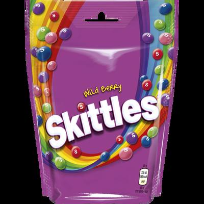Bonbons wild berry SKITTLES, pochon de 174g
