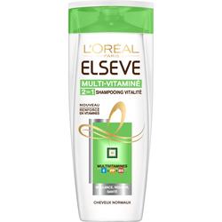Shampoing 2 en 1 Multivitamines ELSEVE, 250ml