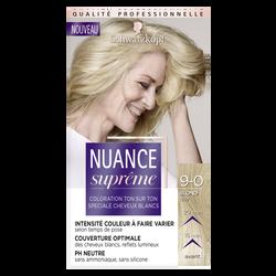 Coloration ton sur blond clair 9-0 NUANCE SUPRÊME