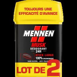Déodorant musk sans alcool MENNEN large, 50ml