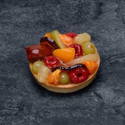 Tartelette fruits assortis hiver, 4 pièces, 640g