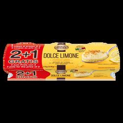 Dessert a/crème et coulis citron BONTA DIVINA 2x90g + 1 off.
