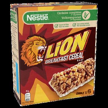 Nestlé Barres De Céréales Lion, 6x25g