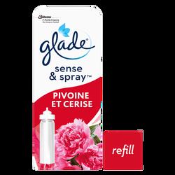 Recharge pour désodorisant Sense & Spray douceur senteur pivoine et cerise GLADE BY BRISE