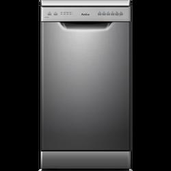Lave vaisselle AMICA ADP1002Sv silver-10 couverts-fonction demi charge-6 prodgrammes-5 températures-47db-titoir àcouverts-classe A++/A/A