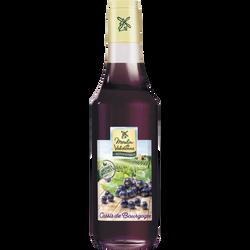 Sirop de cassis MOULIN DE VALDONNE, bouteille de 50cl