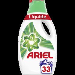 Lessive liquide original ARIEL, 33 doses soit 1,815L