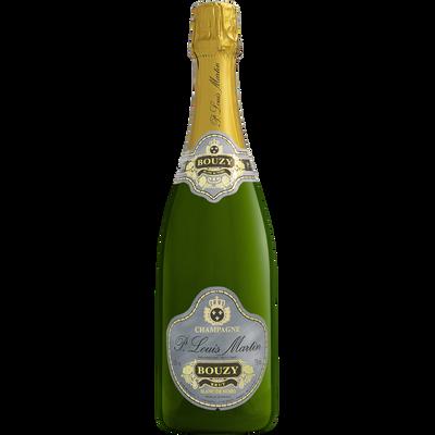 Champagne blanc AOC de noirs brut PAUL LOUIS MARTIN, 12°, bouteille de75cl