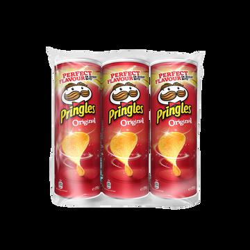 Pringles Chips Tuiles Pringles Original, Lot De 3x175g