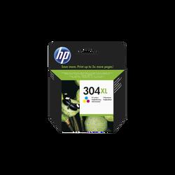 Cartouche d'encre HP pour imprimante, N9K07AE couleur, N°304 XL, sousblister
