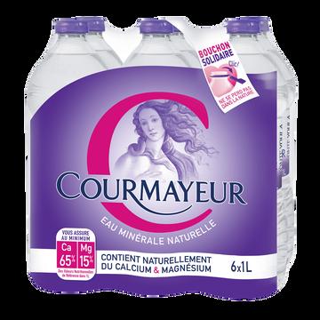 Courmayeur Eau Minérale Naturelle Courmayeur, 6x1l