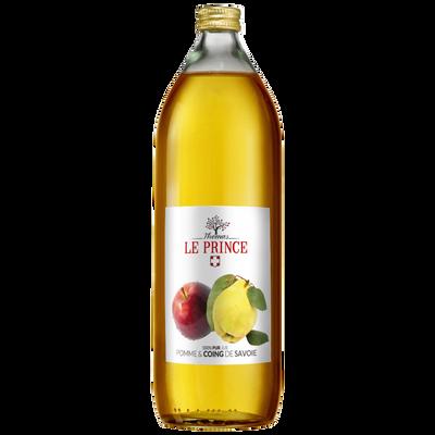 Pur jus de pomme et coing de Savoie THOMAS LE PRINCE, 1litre