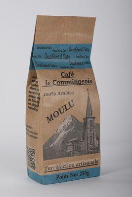 CAFE DECAFEINE MOULU LE COMMINGEOIS 250G
