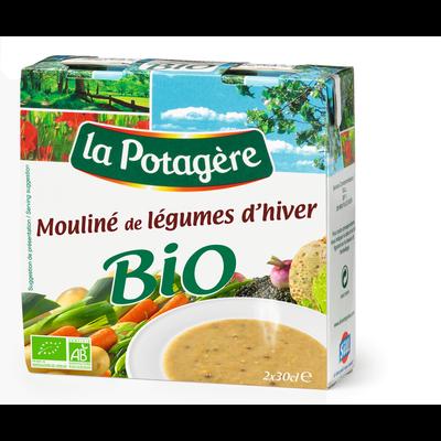 Mouliné légumes d'hiver bio LA POTAGERE, 2x30cl