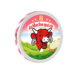 Fromage fondu LA VACHE QUI RIT Goût Jambon 8 portions, 140g