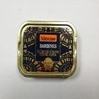 Sardines à l'huile d'olive vierge extra La Sablaise 115g