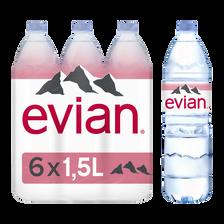 Evian Eau Minérale Naturelle  6x1,5l