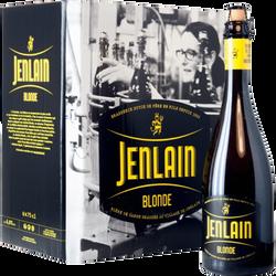 Bière blonde JENLAIN 6,8° 5x75cl +1 offert