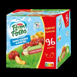 Pom'potes pomme/pomme brugnon MATERNE, 96x90g format familial