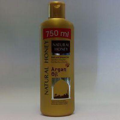 NATURAL HONEY GEL DOUCHE ARGAN OIL 750ML