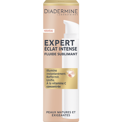 Sérum éclat intense pour peaux matures et exigeantes expert DIADERMINE, flacon de 40ml