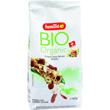Muesli Organic Bio FAMILIA,  450g