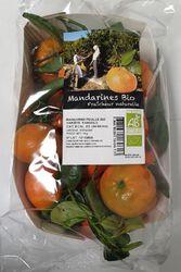 Mandarine Feuilles BIO Barquette 1KG