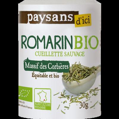 Romarin Massif des Corbières Bio PAYSANS, flacon de 30g