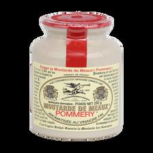 Moutarde de Meaux POMMERY, pot grès et bouchon plastique 250g