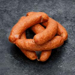 Mini saucisse de Morteau cuite fumée en tuyé IGP