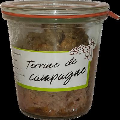Terrine de porc de campagne LA FERME DU TERROIR, 180g