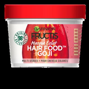 Garnier Masque Éclats Aux Baies De Goji Hair Foods Fructis, Pot De 390ml